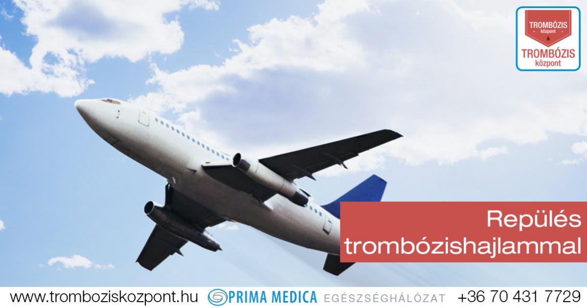 Óvintézkedésekkel trombózishajlammal is ülhet repülőre - Lehet-e repülni visszeres műtét után