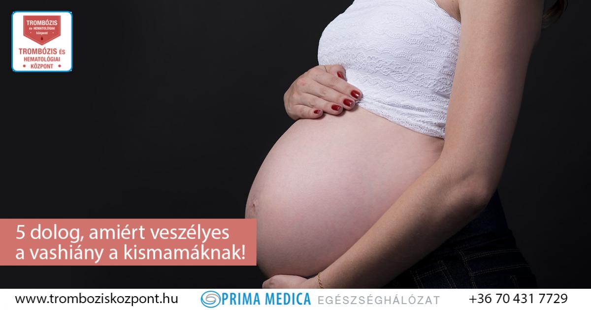 vérszegénység v prvnim trimeszter humán papillomavírus hpv immunizálás