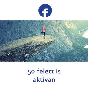 50 felett is aktívan